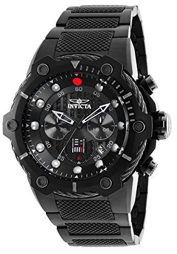 Invicta 26207 Star Wars - Darth Vader Herren Uhr Edelstahl Quarz schwarzen Zifferblat