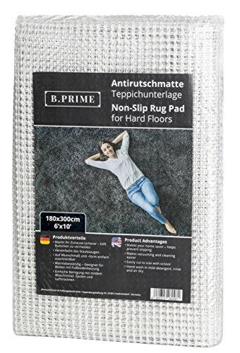 B.PRIME 180x300cm Tappetino Antiscivolo Universal I Sottotappeto I Antiscivolo per tappeti I...
