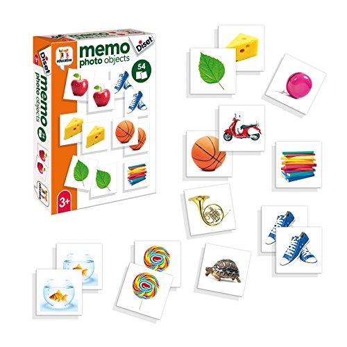 Diset Juguete educativos Memo Photo Objects 68946