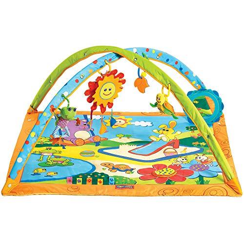 Tiny Love Gymini Sunny Day- Sonnige Spiel- und Spaßdecke, Krabbeldecke mit Spielbogen, mehrfarbig
