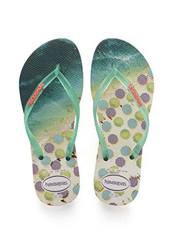 sale retailer 76415 5a493 Havaianas Slim Paisage, Infradito Donna - Prezzo lato
