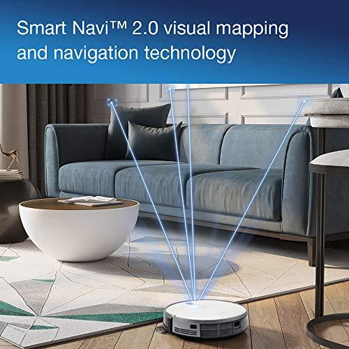 51pxzUfoHfL [Bon Plan Ecovacs] ECOVACS DEEBOT 710 - Aspirateur robot avec technologie de cartographie - Pour sols durs et tapis - Aspirateur sans fil programmable via smartphone et compatible avec Amazon Alexa