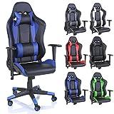 TRESKO Silla de oficina Racing Gaming silla de escritorio ordenador giratoria dirección, disponible...