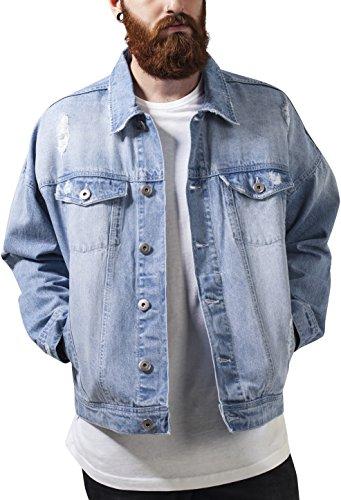 Jeansjacke mit Patches Herren