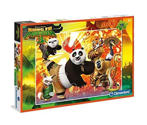 Clementoni 30 El. Maxi Kung Fu Panda [Puzzle]