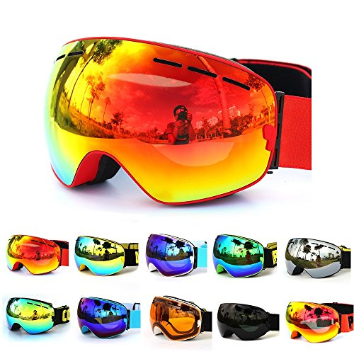 98f818ace88a GANZTON Ski Goggles Snowboard goggles Skiing Goggles Double Lens ...