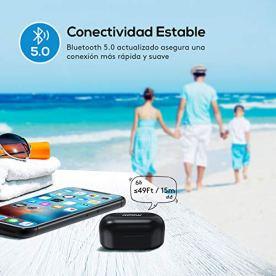 Mpow-Auriculares-Inalambricos-Pequeos-Control-Tactil-Auriculares-Bluetooth-50-Mini-Twins-In-Ear-IPX7-Jugar-21-Horas-con-Caja-de-Carga-Auriculares-Inalambricos-con-Micrfono-para-iOS-Android