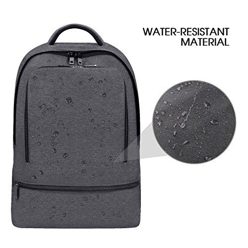 572efec08398 REYLEO Backpack Laptop Bag School Rucksack Waterproof Daypack for ...