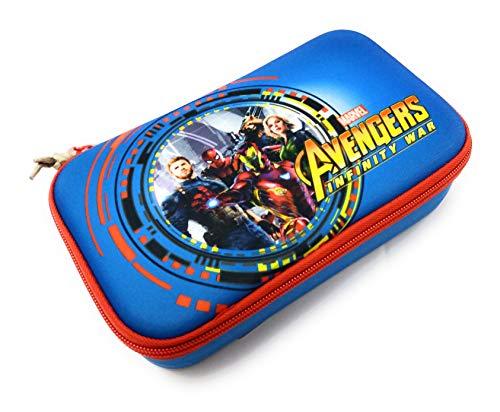 Seven - Astuccio Scuola Avengers Infinity War - Quick Case - Completo di 44 Pezzi