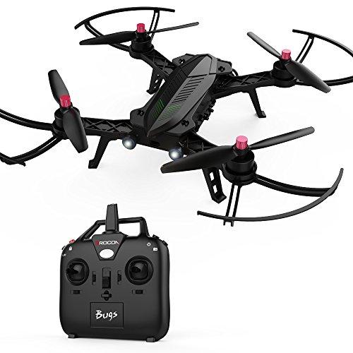 DROCON - Bugs 6, Drone Veloce con Motori senza Spazzole 1806 1800KV, Quadrirotore Preassemblato...