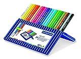 Staedtler 132958 - Étui 24 crayons ERGOSOFT