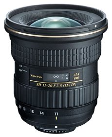 Tokina AT-X 11-20 F2.8 Pro DX - Objetivo (SLR, 11/12, Ultra-Ancha, Nikon, Negro, 8,9 cm)