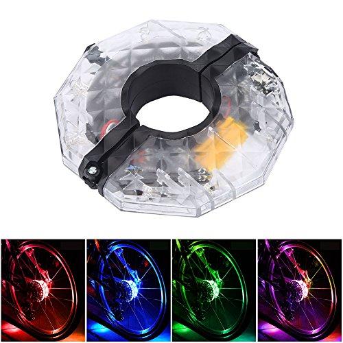 Luci della ruota della bicicletta Le luci del raggio di 32 LED hanno illuminato le luci variopinte...