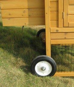 Mobiles Hühner oder Wachtel Haus