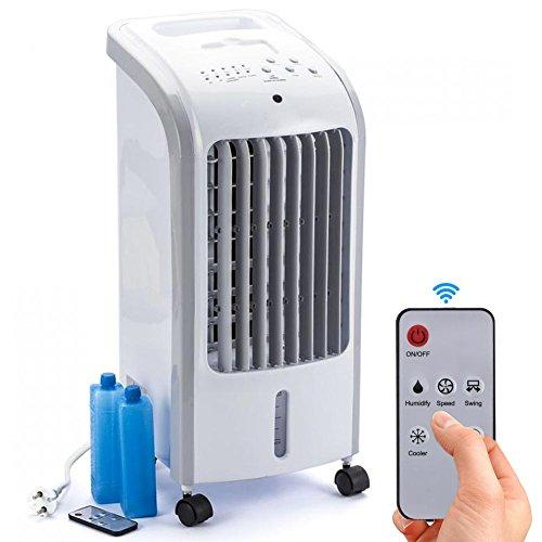 Bakaji Rinfrescatore Raffrescatore d'aria Compatto Air Cooler 80 W Ventilatore Refrigeratore Aria...