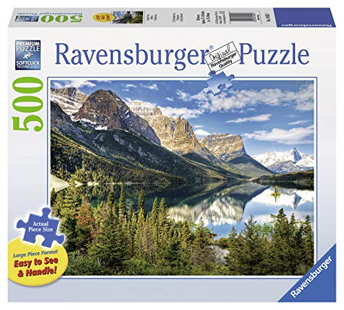 Ravensburger - 14852 3 - Vista Magnifica. Puzzle 500 Pezzi Easy To See & Handle