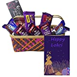 Maalpani Lohri Chocolates And Biscuits Pack With Greetings For Occasion
