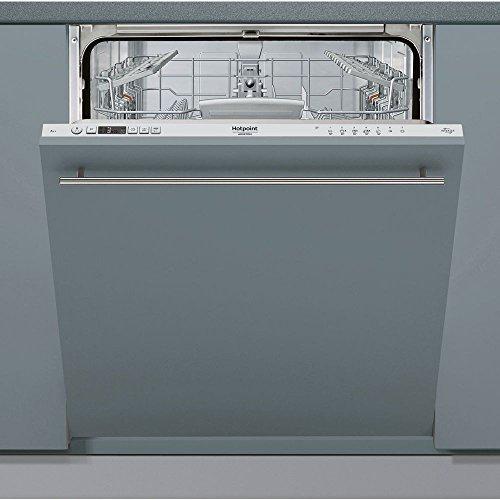 Hotpoint HIC 3C24 S lavastoviglie a scomparsa,Potenza sonora 44db(A), 7 programmi di lavaggio,...