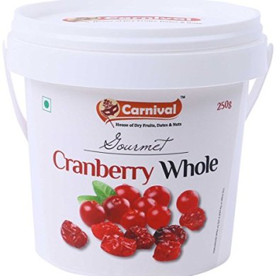 Carnival Cranberry Whole, 250g 4