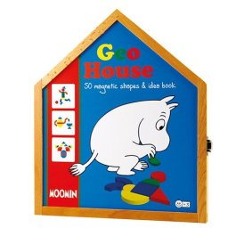 Barbo Toys – 7272 – Moomin Geohouse Magnetico Forme