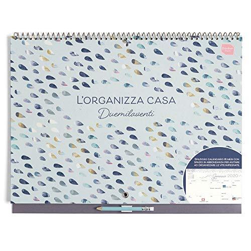 Boxclever Press L'Organizza Casa calendario 2020 da muro. Calendario da muro accademico (IN...
