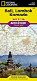 Bali, Lombok, and Komodo Travel Maps International Adventure Map (National Geographic Adventure Travel Maps)