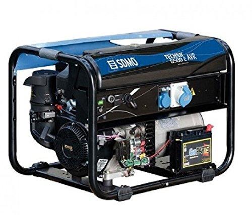 GENERADOR SDMO TECHNIC 6500 E | Grupo electrógeno monofásico profesional SDMO, gama Technic, arranque eléctrico, gran autonomía, motor Kohler, 6.500 W
