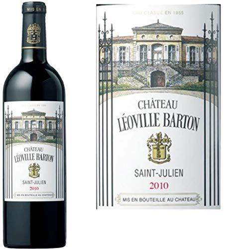 Ch. Léoville Barton 2010,37.5cl, Saint Julien Rouge, 12°