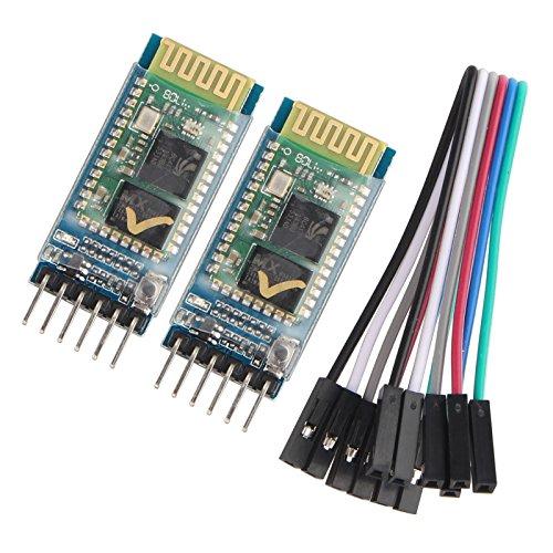 1. ModuloBluetooth HC-05, modulo slave e master due in uno. 2. Il modulo può essere impostato come trasmettitore o ricevitore, il trasmettitore potrebbe accoppiarsi con il ricevitore, ricevitore e ricevitore o trasmettitore e trasmettitore n...