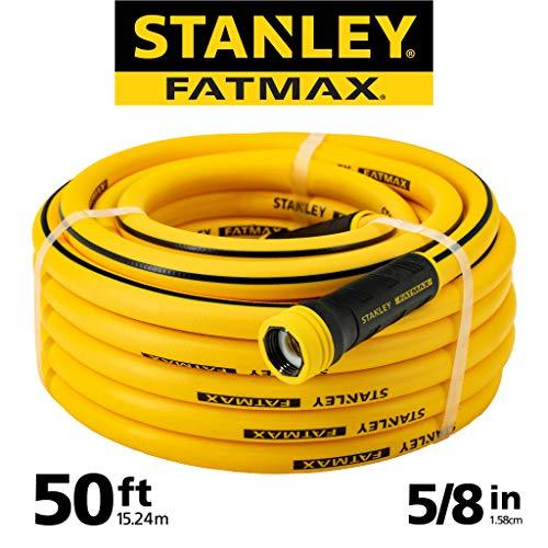 "Yellow , 50-Foot : Stanley FatMax Garden Hose, 50' x 5/8"", Yellow"
