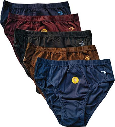 Rupa Jon Aishwarya Plain Panties Pack of 5 4