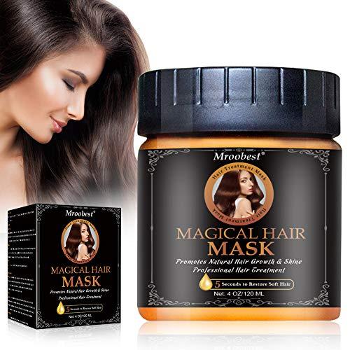 Haarmaske, Staerkende Haarmaske, Hair Treatment Haarmaske, Repair Dry Damaged, Fördert natürliches Haarwachstum und Glanz, verbessert die Weichheit und Textur des Haares