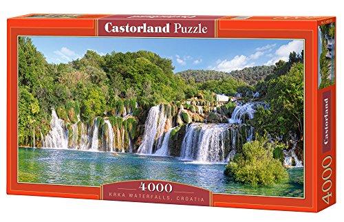 Jigsaw Puzzle - Krka Waterfalls, Croatia - Castorland - 4000 Pezzi