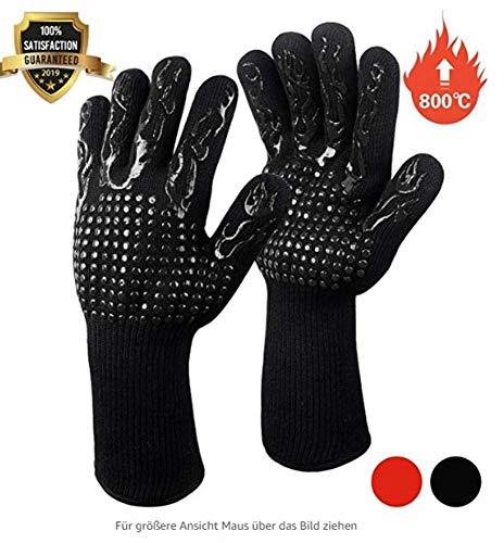 Guanti da griglia Fesoar, guanti da forno Guanti da barbecue resistenti al calore Guanti da cucina...