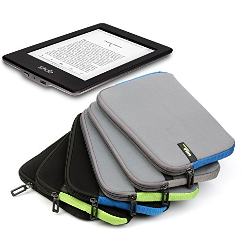 Gizga Essentials GE-6 6-inch Sleeve for Amazon Kindle E-Reader Paperwhite (Black) 18