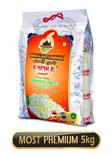 SHRILALMAHAL Empire Basmati Rice (Most Premium), 5 kg