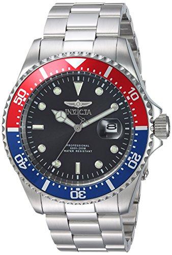 Invicta 23384 Pro Diver Herren Uhr Edelstahl Quarz schwarzen Zifferblat