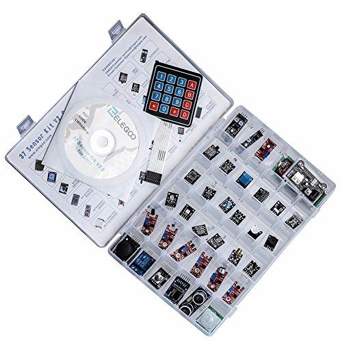 51rVgZEYd9L - ELEGOO Actualizado 37-en-1 Kit de Módulos de Sensores con Tutorial Compatible con Arduino UNO R3 Mega 2560 Nano Raspberry