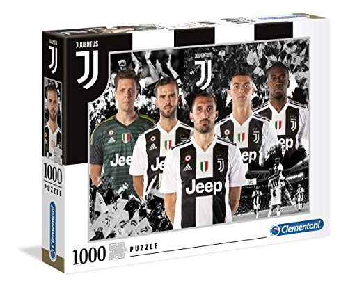 Clementoni Collection Puzzle-Juventus-1000 Pezzi, Multicolore, 39474