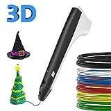 SUNLU Stylo 3D avec écran LCD, Compatible avec PLA/ABS pour l'artisanat et loisirs créatifs - Noir (EU-M1-Black)