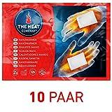 THE HEAT COMPANY Handwärmer | EXTRA WARM | Taschenwärmer | 12 Std. Wärme | sofort einsatzbereit | luftaktiviert | 100% natürlich | 10 oder 40 Paar