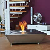 HARK Design Gelkamin Fuego 10 Deko Tischfeuer Edelstahl