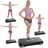 Ancheer Multifuktions Aerobic Steppbrett Fitness Stepper Heimtraining