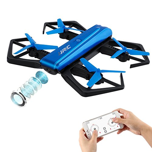 JJRC H43WH Mini Drone Pieghevole RC Selfie Quadcopter con WiFi FPV 720P HD Camera, Altitude Hold e...