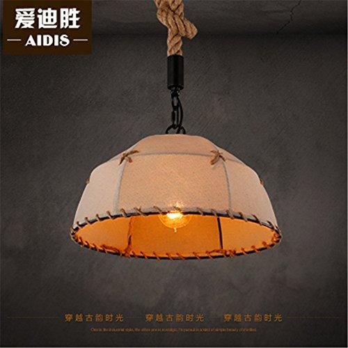 Nordic retrò Ristorante Bar arte luce indumento Cafe Shop Tetra cappa lampadario, 45x18cm