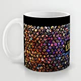 XOX-T Great Gift Choice - Gaming Mugs,White 11 oz Classic White Ceramic Mugs with League Of Legends Wallpaper(18) Coffee Mugs/Tea Mugs/Drink Cups - Dishwasher and Microwave Safe Color 07