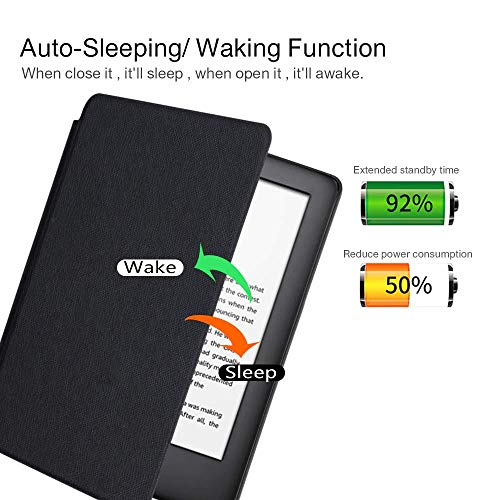 "MOCA Compatible Smart Auto Wake/Sleep flip Case Cover for 2019 Kindle 10th Gen Generation 6"" Display 2019 Release case Cover (Black) 6  MOCA Compatible Smart Auto Wake/Sleep flip Case Cover for 2019 Kindle 10th Gen Generation 6″ Display 2019 Release case Cover (Black) 51rwdEzqVkL"