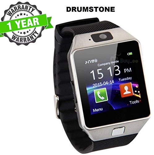 Kingsford DZ09 Bluetooth SmartWatch with SIM/TF Card Slot, Camera, Whatsapp, Facebook, Alarm Compatible with all Android Smarphones.