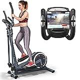 Sportstech Vélo elliptique CX625 ergomètre Compatible avec Application...