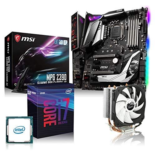 Memory PC Aufrüst-Kit Bundle i7-9700K 8X 3.6 GHz, MSI Z390 Gaming Pro Carbon, 16GB DDR4 RAM, fertig montiert und getestet